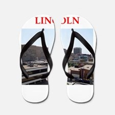 lincoln Flip Flops
