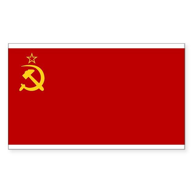 Ussr Flag Black And White USSR National Flag Dec...