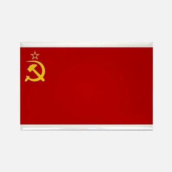 USSR National Flag Rectangle Magnet