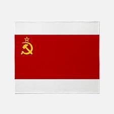 USSR National Flag Throw Blanket