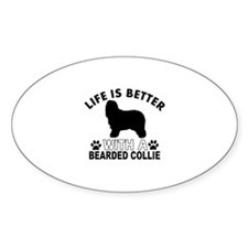 Bearded Collie vector designs Decal