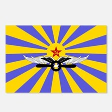 USSR Air Force Flag Postcards (Package of 8)