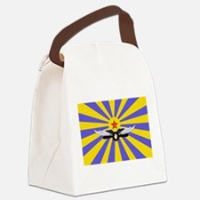 USSR Air Force Flag Canvas Lunch Bag