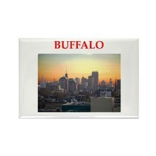 buffallo Rectangle Magnet
