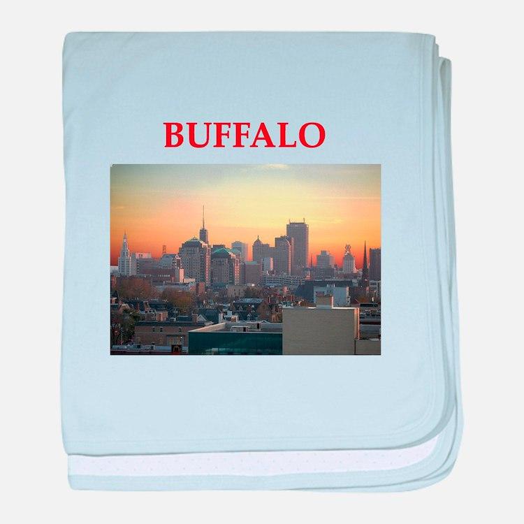 buffallo baby blanket