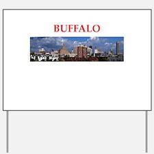 buffallo Yard Sign