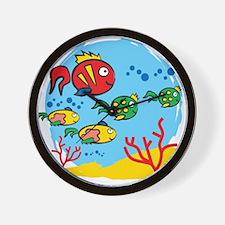 FISH AQUARIUM Wall Clock