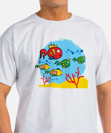FISH AQUARIUM T-Shirt