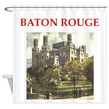 baton,rouge Shower Curtain