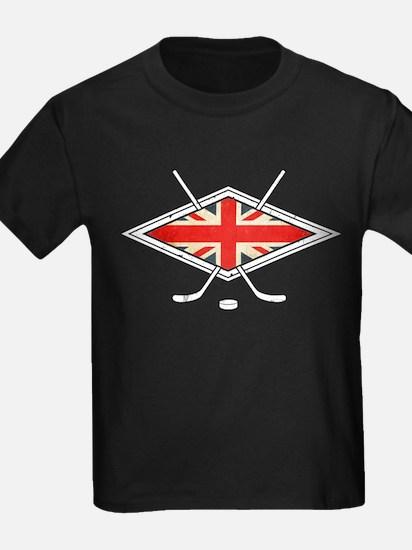 British Ice Hockey Flag T-Shirt