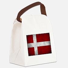 Denmark flag Canvas Lunch Bag