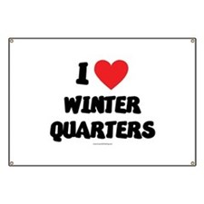 I Love Winter Quarters - LDS Clothing - LDS T-Shi