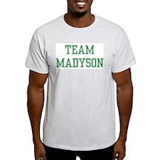 TEAM MADYSON  Ash Grey T-Shirt