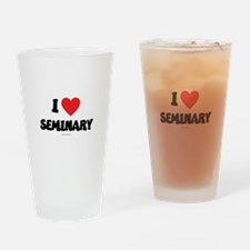 I Love Seminary - LDS Clothing - LDS T-Shirts Drin