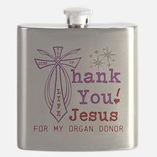 Thank You Jesus Flask