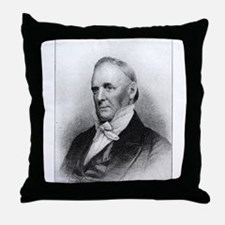 James Buchanan Throw Pillow