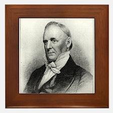 James Buchanan Framed Tile