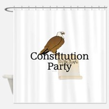 Constitution Party Shower Curtain