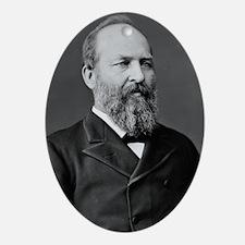James Garfield Ornament (Oval)