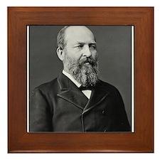 James Garfield Framed Tile
