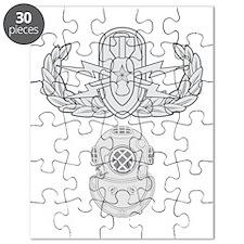 Senior EOD 2nd Class Diver Puzzle