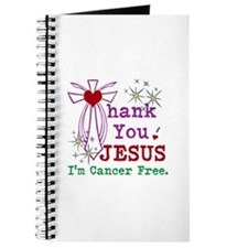 Thank You JESUS I'm Cancer Free Journal