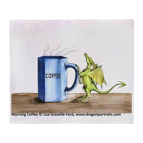 Morning Coffee Throw Blanket