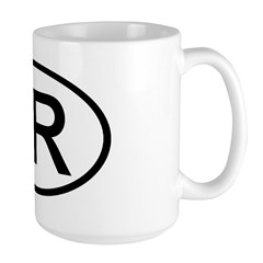 Turkey - TR Oval Mug