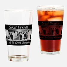 Great friends Drinking Glass