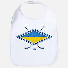 Ukrainian Ice Hockey Flag Bib