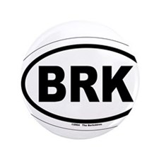 "BRK - The Berkshires MA 3.5"" Button"
