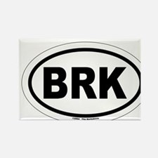BRK - The Berkshires MA Rectangle Magnet