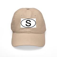 Sweden - S Oval Baseball Cap