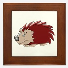 Hedgehog Framed Tile