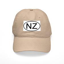 New Zealand - NZ Oval Baseball Cap
