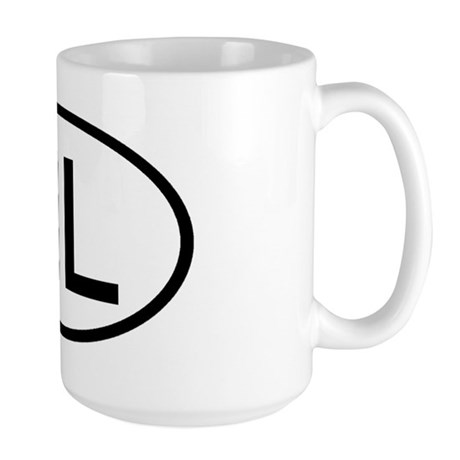 Netherlands - NL Oval Large Mug