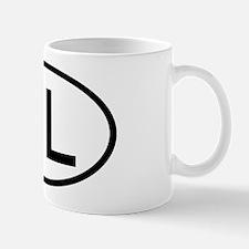 Netherlands - NL Oval Mug