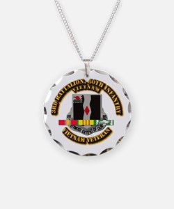 Army - 3rd Battalion, 60th Infantry Necklace