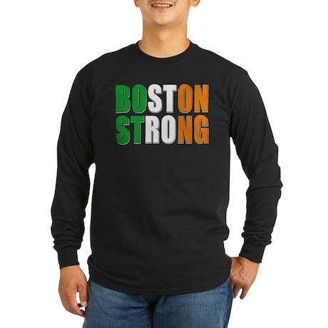 Irish Boston Pride Long Sleeve Dark T-Shirt