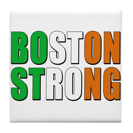 Irish Boston Pride Tile Coaster
