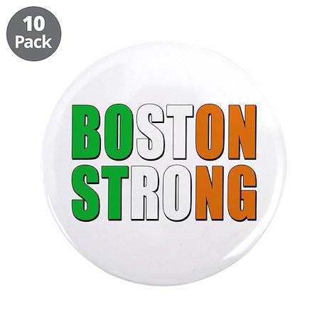 """Irish Boston Pride 3.5"""" Button (10 pack)"""