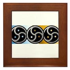 BDSM Symbol - Emblem Framed Tile
