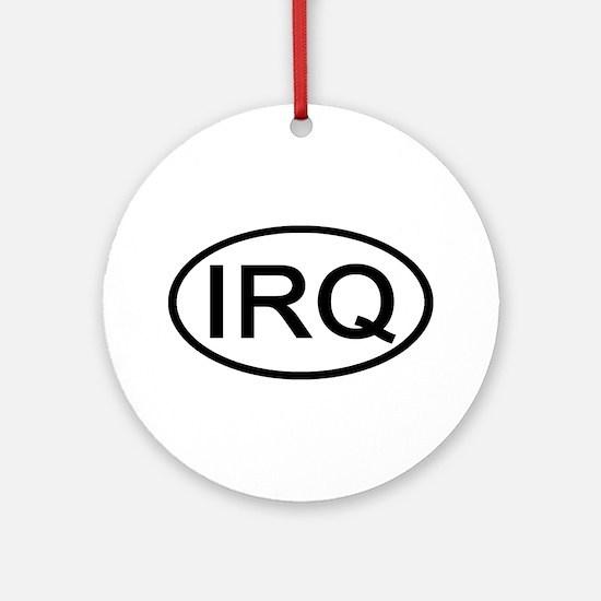 Iraq - IRQ Oval Ornament (Round)