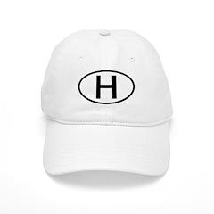Hungary - H Oval Cap