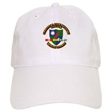 Army - Company F, 75th Infantry w SVC Ribbons Baseball Cap