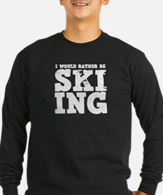 'Rather Be Skiing' T