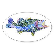 Wild Bass Decal