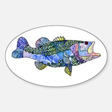 Wild Bass Decal