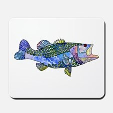 Wild Bass Mousepad