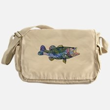 Wild Bass Messenger Bag